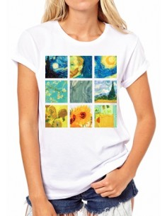 Camiseta Collage Vincent...