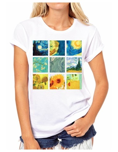 Camiseta Collage Vincent Van Gogh