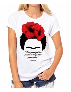 "Camiseta Frida Kahlo ""Pies..."