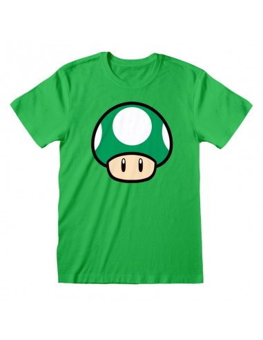 Camiseta Nintendo Super Mario - 1 UP...