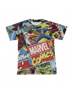 Camiseta Niño Marvel Comics