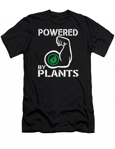 Camiseta Powered by Plants