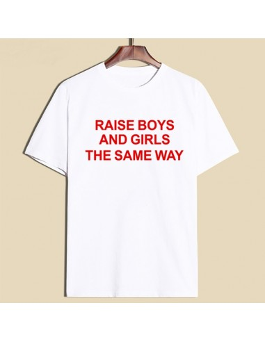 "Camiseta ""Raise Boys and Girls the..."